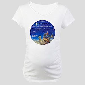 Wisemen Came [2] Maternity T-Shirt